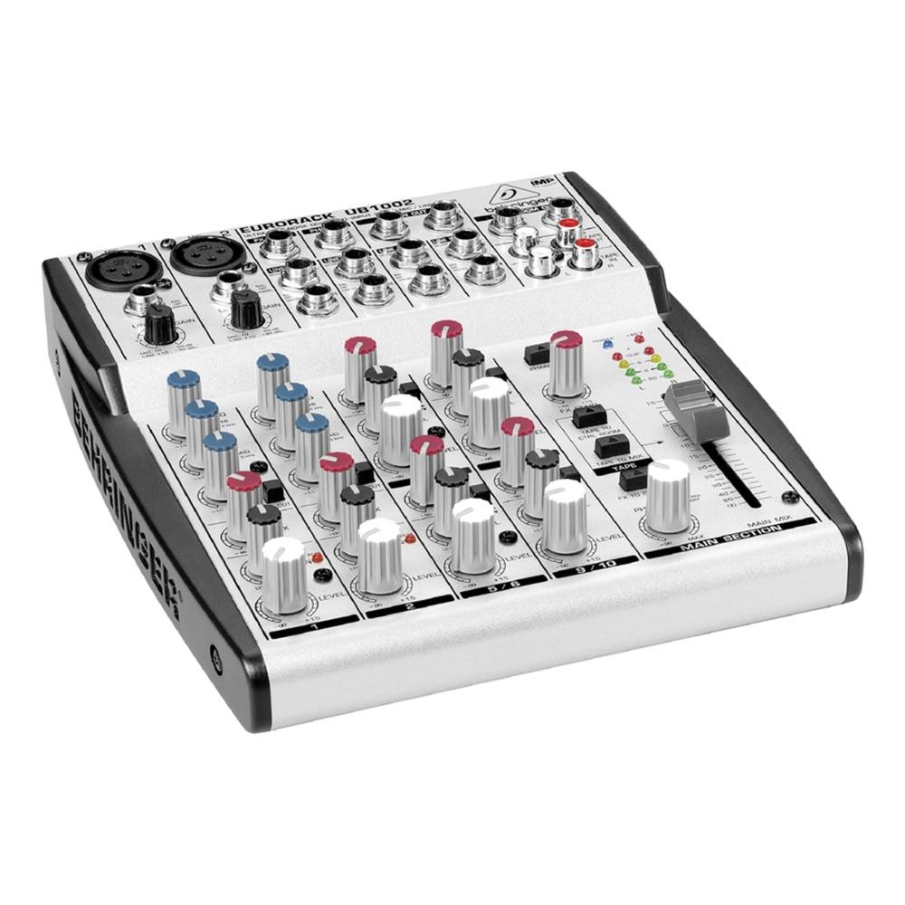 Mesa de mezclas behringer eurorack ub1002 electr nica for Media markt mesa de mezclas