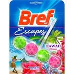 BREF desinfectante WC poder activo Hawai hibiscus colgador