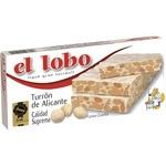 EL LOBO turrón de Alicante Calidad Suprema tableta 250 g