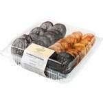 CALIDAD ARTESANA palmeritas surtidas clásicas y chocolate 16 unidades bandeja 320 g