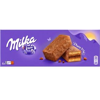 MILKA Choco Tutti galletas con chocolate estuche 150 g