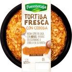FUENTETAJA tortilla fresca con cebolla envase 300 g