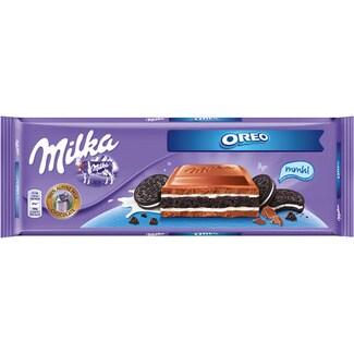 MILKA chocolate con galleta Oreo pack 3 envases 100 g
