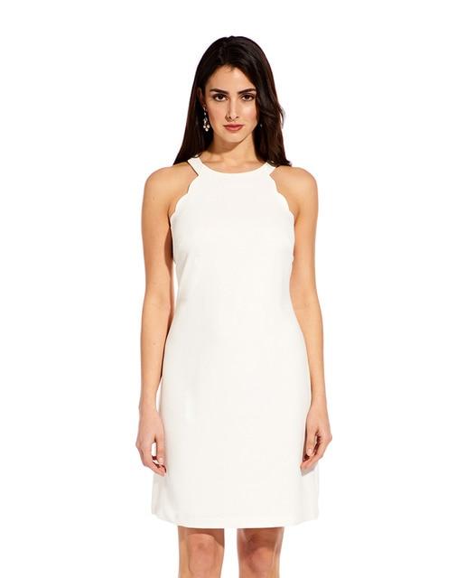 6d697b4b Vestido de mujer de Adrianna Papell color marfil sin m.