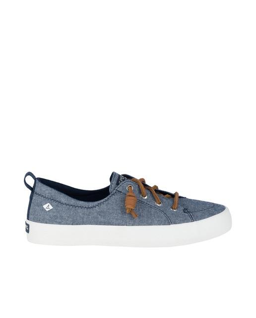 Sperry Zapatillas de lona de mujer Sperry transpirables en azul