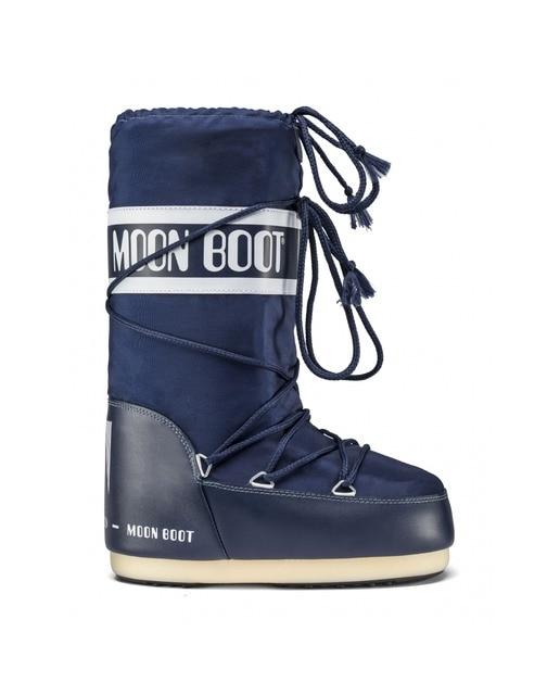 340d3832b45 Botas de mujer Moon Boot altas de color azul · Moda · El Corte Inglés