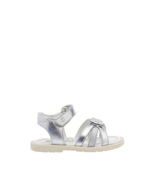 fae4526e8 Sandalias de niña Falcotto de cuero en plata · Moda · El Corte Inglés
