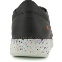 ART Zapatos planos unisex Art de piel negra