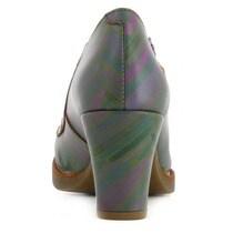 ART Zapatos de salón de mujer Art de piel estampado