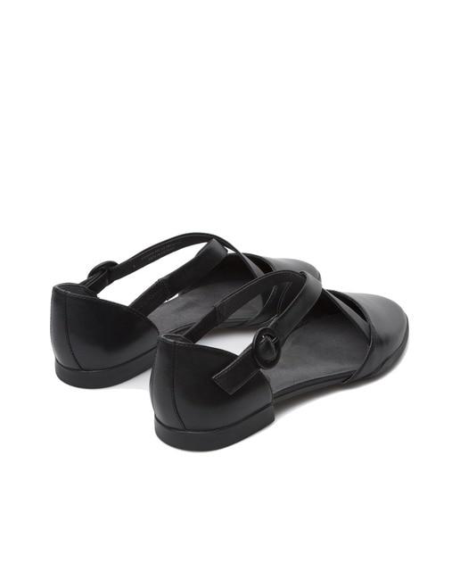 Camper Zapatos planos de mujer Camper de similpiel color negro