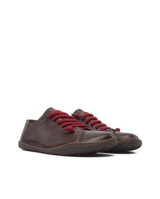 Camper Zapatos de cordones de mujer Camper de piel en marrón