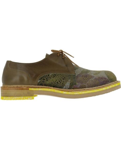 Neosens Zapatos planos de mujer Neosens de piel estampada