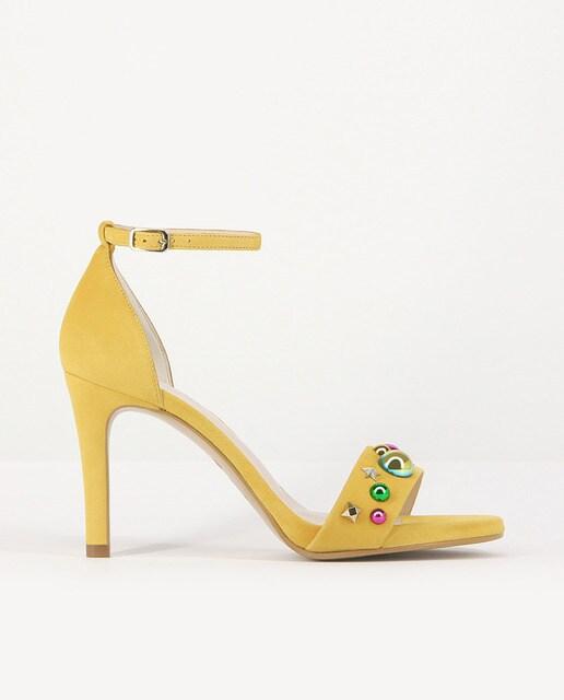 Lodi Sandalias de tacón de mujer Lodi de color amarillo con... Acheter Pas Cher Pas Cher D'origine Pas Cher vhtLmG