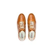 Pikolinos Zapatillas de piel de mujer Pikolinos de estilo casual color marrón
