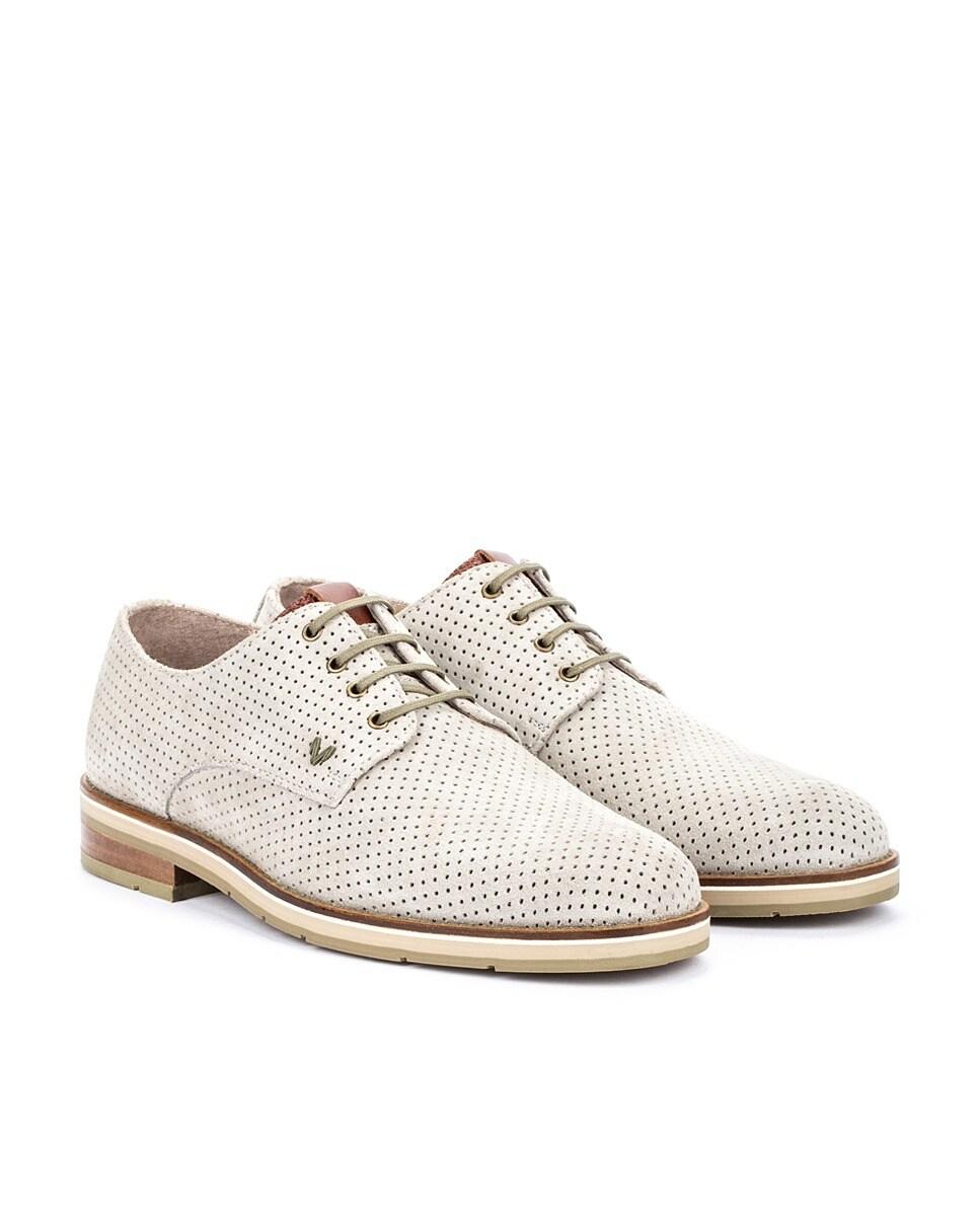 Martinelli Hombre Piel Cordones Zapatos En De Gris dCxBoQerW