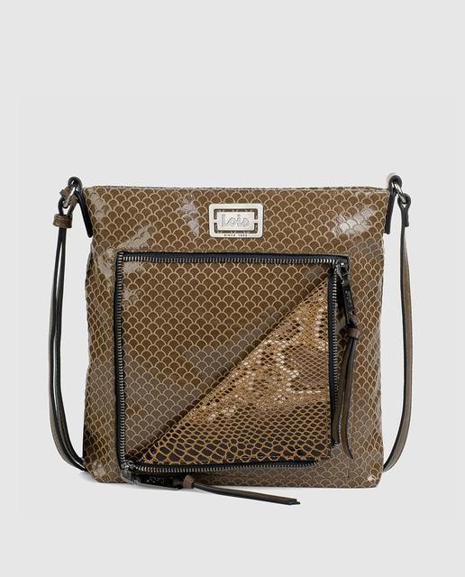 9cb1fd236 Bolso bandolera de mujer Lois Thelon ajustable cuero