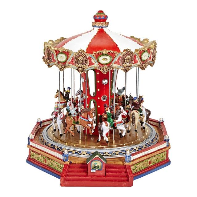 Carrusel para pueblo americano navidad el corte ingl s for El corte ingles decoracion navidad