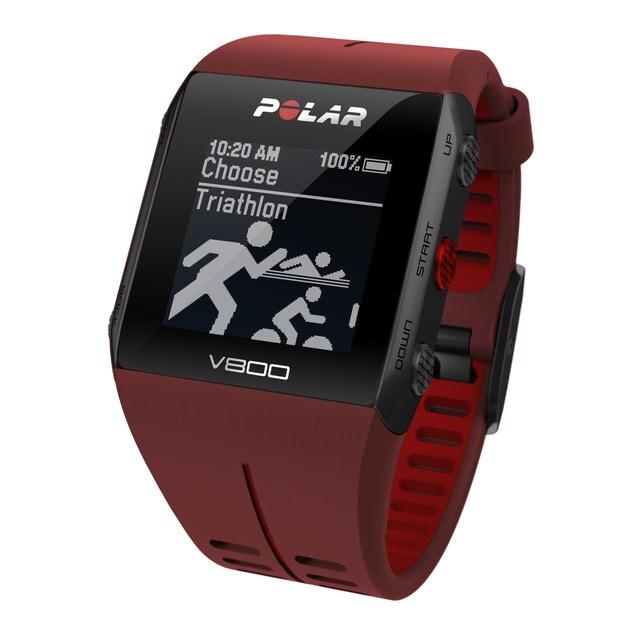 Polar - Reloj Gps Con Pulsómetro V800 Javier Gómez Noya Special Edition Rojo