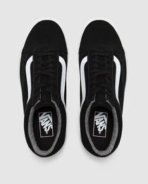 Vans Negras Con Linea Blanca