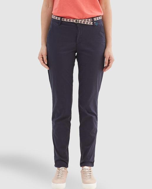 cff6b4849 Pantalon chino femme Esprit bleu marine · Esprit · Mode · El Corte ...