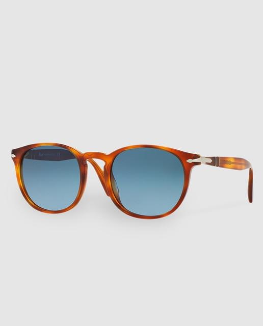 Persol Gafas de sol de hombre PO3157S de acetato marrones