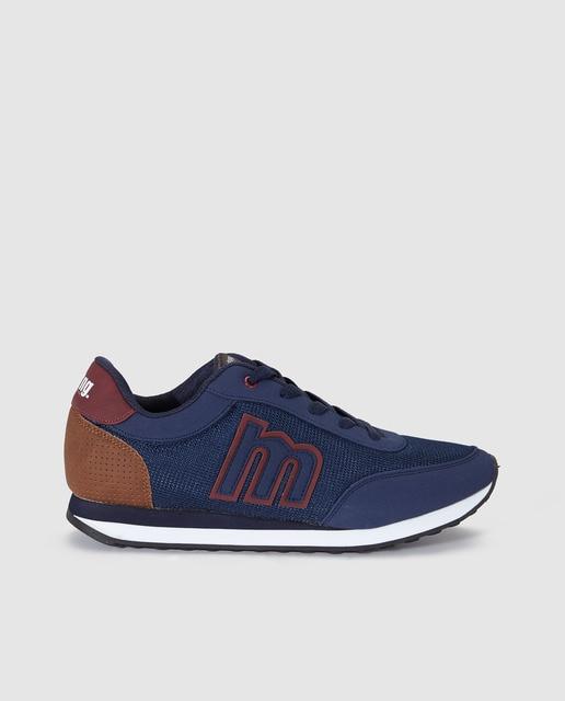 Zapatos azules Mustang para hombre CsSwUhLy