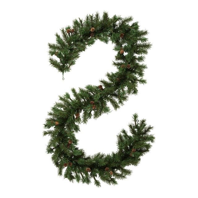 guirnalda verde con pias navidad el corte ingls - Guirnaldas Navidad