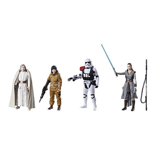 Pack 4 figuras Star Wars Episodio VIII: Los últimos Jedi · Juguetes ...