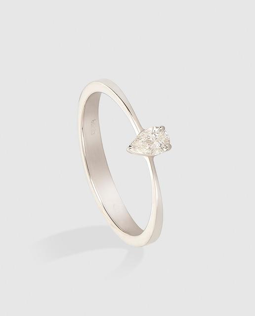 Diamonds El Corte Inglés Anillo de oro y diamante Diamonds El Corte Inglés