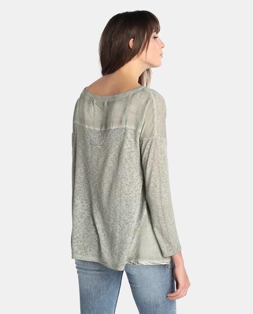 Southern Cotton Jersey de mujer Southern Cotton con parche de lentejuelas