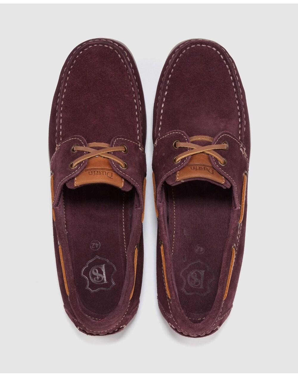 Chaussures-bateau-homme-Dustin-en-croute-de-cuir-grenat-A23924315