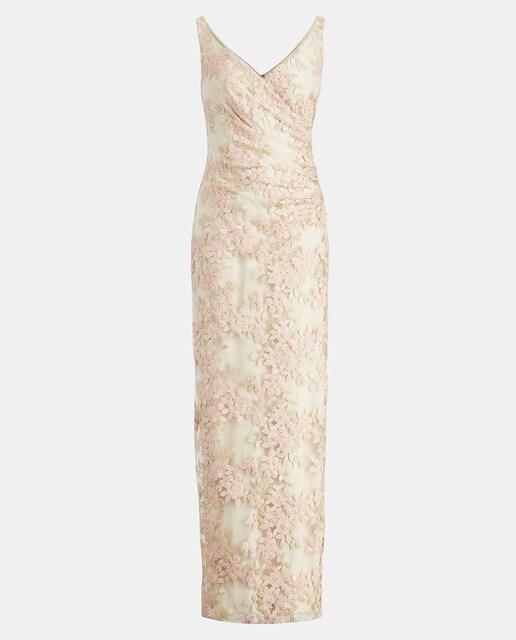 Lauren Ralph Lauren Vestido largo de mujer Lauren Ralph Lauren con flores bordadas