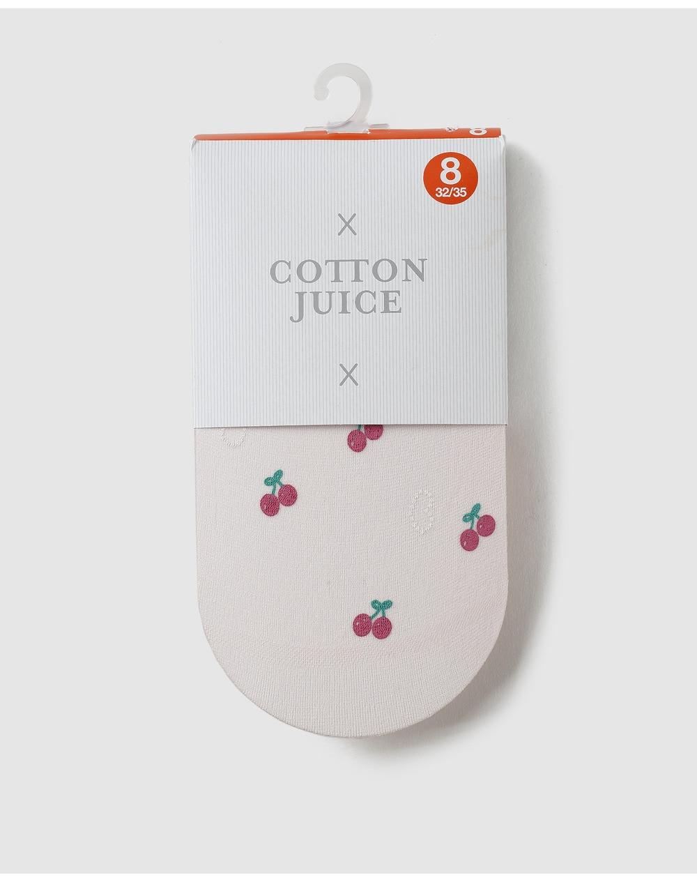 Collants-fille-Cotton-Juice-roses-motif-cerises-A24213457