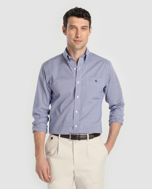 Lauren Ralph Lauren Camisa de hombre Lauren Ralph Lauren regular de cuadros azul
