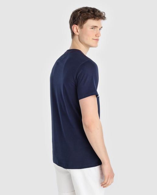 Tommy Jeans Camiseta de hombre Tommy Jeans azul marino de manga corta