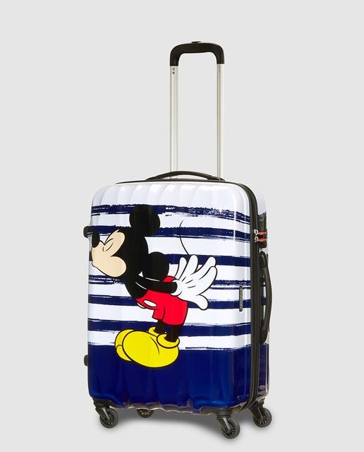 Maleta mediana Disney American Tourister Mickey Mouse Legends rígida ...
