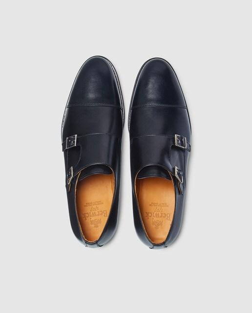 Berwick Zapatos de vestir de hombre de Berwick de piel en color negro Negro
