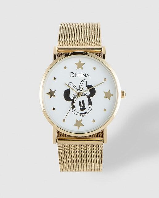 078a00b151e2 Reloj de mujer Pontina Disney CY7400 dorado · Pontina · Moda · El ...