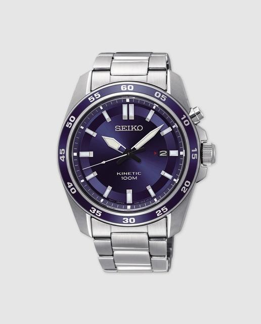 c3c8418dc7a7 Reloj de hombre Seiko Neo Sports SKA783P1 kinetic de acero · Seiko ...