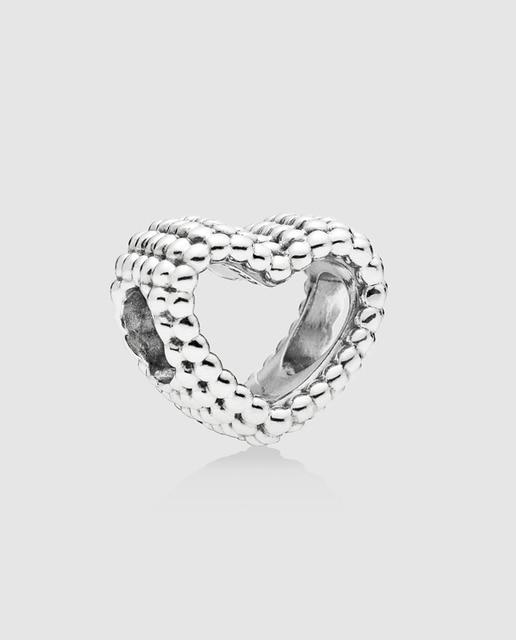 charm pandora corazón moldeado de plata · pandora · moda · el corte