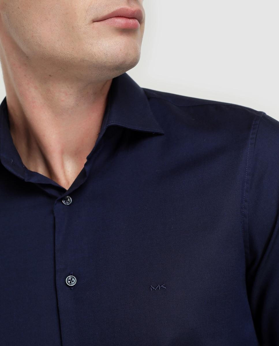 Michael Hombre Regular Camisa Kors De Lisa Azul 5Rj4AL