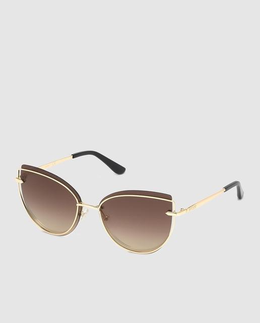 9d7b0c51bb Gafas de sol de mujer Guess cat eye en color dorado co.