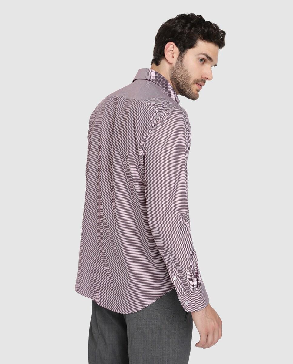 Granate Rushmore Hombre Classic Estampada Camisa De edxCBor